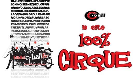 Website 100% Circus
